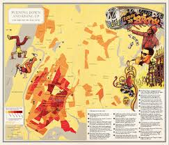 Map Of Manhattan New York City by Nonstop Metropolis A New York City Atlas Rebecca Solnit Joshua