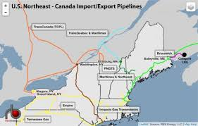 map us northeast on the border u s northeast becomes a net exporter of