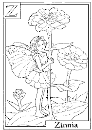 flower fairies coloring pages flower fairies color