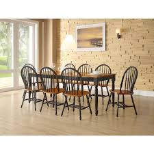 maple dining room furniture better homes and gardens autumn lane extension dining table