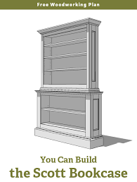 Free Woodworking Plans Bookcase by Wood Plan Project February 2015