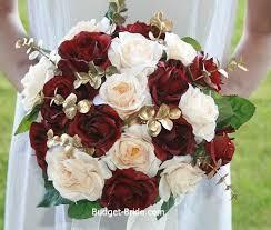 maroon and gold wedding maroon wedding flowers wedding corners