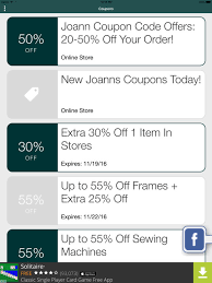 joanns coupon app joann fabric and craft stores shop online joann