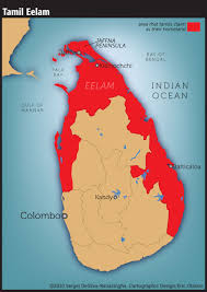 Map Of Sri Lanka Eric Olason Mapmaker Cartographic Artist Sri Lanka Civil War
