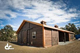 horse barns california horse barns and les shedrow gable shed