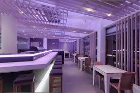 Restaurant Interior Design Ideas Violet Restaurant Interior Restaurant With Violet Interior Color