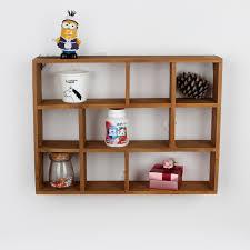 Wall Mounted Wooden Shelves by Online Get Cheap Wood Desktop Shelf Aliexpress Com Alibaba Group