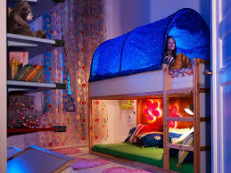 Bunk Bed With Tent At The Bottom Do You Realize How Cool This Is Tent Bunkbed Bottom Bunk On Floor