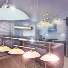 Retro Wohnzimmerlampe Pendellampe Led Design Hängeleuchte Wohn Zimmer Lampe Glas