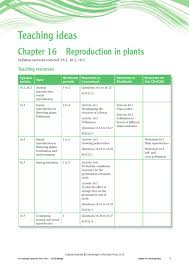 Asexual Reproduction Worksheets Cambridge Igcse Biology Teacher U0027s Resource Third Edition By