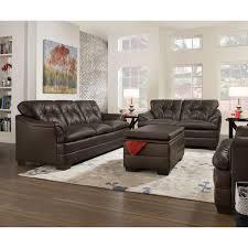 simmons upholstery outback chocolate sofa set hayneedle