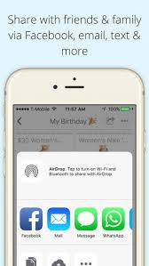 wish list app wishmindr wish list gift registry on the app store