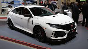 Honda Civic Type R Horsepower 2018 Honda Civic Type R Prototype Will Be Powered By A 2 0 Liter
