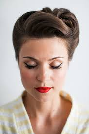 elegant hairdos for women in their sixties wedding updos inspired by the 50s 60s