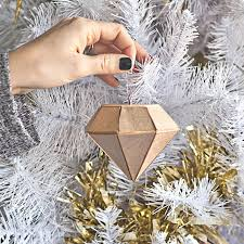 How To Make Adorable Wood Slice Christmas Ornaments 10 Adorable Diy Ornaments For A Kick Christmas Tree More Com