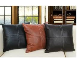 Leather Sofa Cushion Rectangular Sofa Cushion Cover Only Bonded Leather