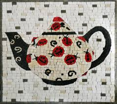mosaic kitchen backsplash tea kettle patterns mozaico modern idolza
