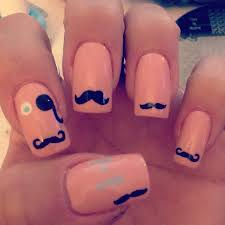 movember mustache nails with stampaholics u0026 mundo de uñas stamping