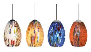 Colored Glass Pendant Lights 10 Unique Mini Pendant Lights For Kitchen Sinks And Islands