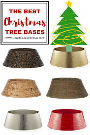 christmas tree collar the best christmas tree collars and bases coastal collective co