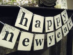 Happy New Year Decorations New Year Banner Happy New Year Decoration