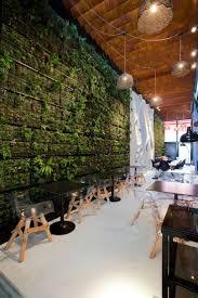coffee shop decoration in garden style creating a spiritual