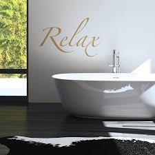 are you interested in our relax bathroom wall sticker with our