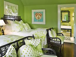 Neutral Wall Colors by Great Guest Bedroom With Green Accents And Neutral Wall Colors