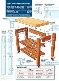 plans for kitchen island portable kitchen island plans woodarchivist