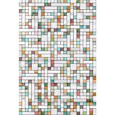 Decorative Window Decals For Home Artscape 24 In X 36 In First Stained Glass Decorative Window