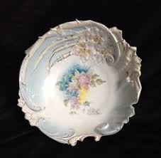 rs prussia bowl roses r s prussia porcelain bowl roses with gold border antique