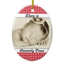baby sleeping ornaments keepsake ornaments zazzle