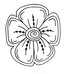 simple drawing flower easy flower pictures to draw beautiful