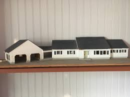 The Houes by My House Came With A Tiny Model Of The House Mildlyinteresting