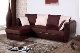canapé cuir et tissu le canapé bicolore et bi matière une tendance qui monte