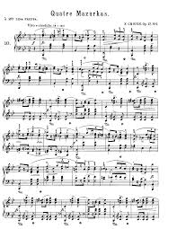 mazurkas op 17 chopin frédéric imslp petrucci music library