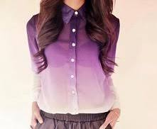 ombre blouse ombre blouse on the hunt