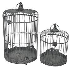 handicraft wholesale home garden decor antique bird cages for sale