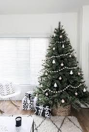 minimal scandinavian christmas tree homey oh my