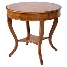 round walnut side table round lloyd antiqued walnut side table decor nyc store