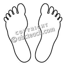 10 images of footprints follow jesus coloring page baby