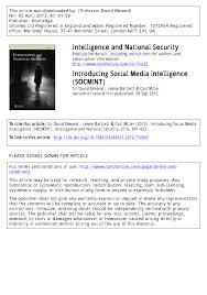 introducing social media intelligence socmint pdf download
