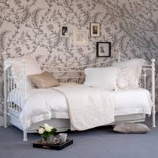 bedroom chic bedroom furniture design with white iron bed frame
