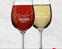 how to personalize a wine glass custom wine glasses etsy