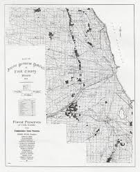 Cook County Il Map Map Of Cook County 1921