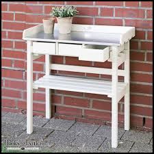 Outdoor Potters Bench Garden Planting Tables Potting Benches U0026 Raised Bed Gardens