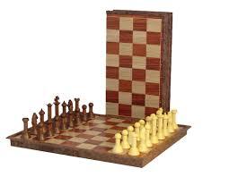 folding wood magnetic chess set at chesssetsworld com