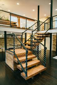 Banister And Handrail 38 Edgy Cable Railing Ideas For Indoors And Outdoors Digsdigs
