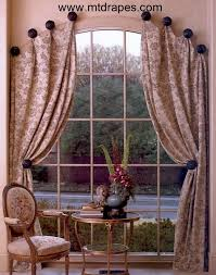 Lace For Curtains How To Make Window Scarf Holders Window Drapery Hardware And