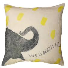 Elephant Decor For Living Room by Decor Batik Elephant Pillow For Charming Home Accessories Ideas